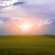 זריחה בהרי הטטרה בסלובקיה
